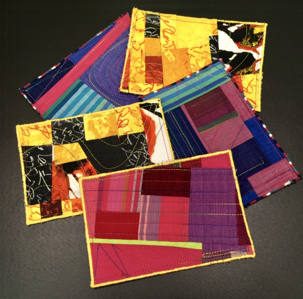 Fabric Postcards Sfquiltersguild San Francisco Quilters Guild